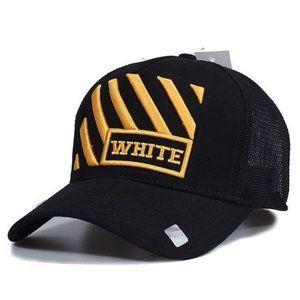Unisex off white cap